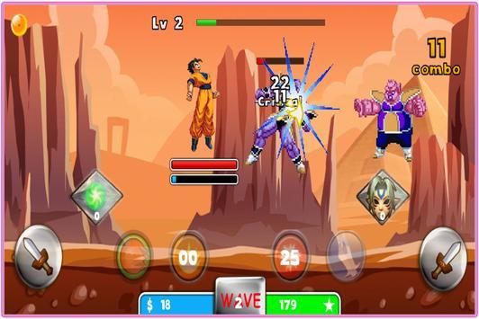 Super Saiyan Goku Fighting screenshot 2