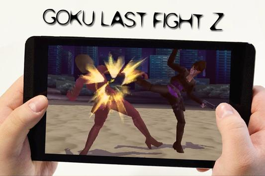 Goku Last Fight Z apk screenshot