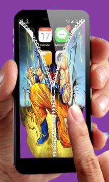 Goku Saiyan Zipper Lock screenshot 3