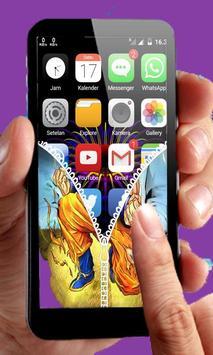 Goku Saiyan Zipper Lock screenshot 4