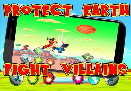 super saiyan dragon Battle goku Fight Super Z poster