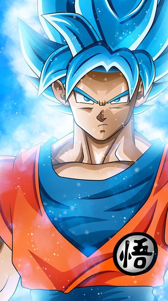 Goku Super Saiyan Blue Wallpaper For Android Apk Download