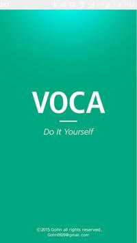VOCA DIY - Excel Upload poster