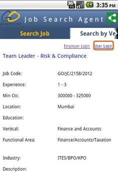 GO Accomplish : Job Search screenshot 3