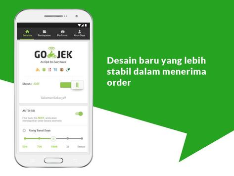 Application Android GO-JEK Driver apk new version. best application