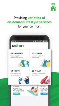 GO-LIFE   Your Ultimate On Demand Lifestyle poster