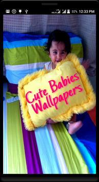 Cute Babies Wallpaper poster