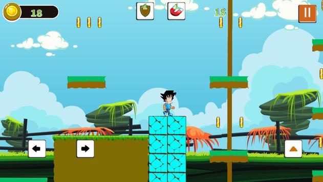 Super Adventures  Goku God 2018 apk screenshot