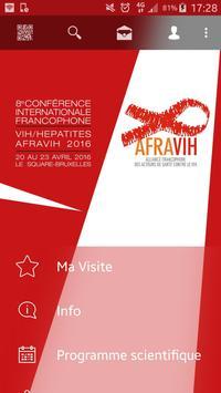 Congrès AFRAVIH poster