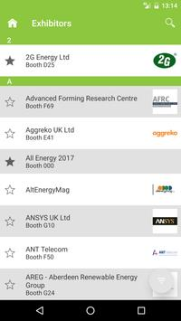 All-Energy 2017, SEC, Glasgow apk screenshot