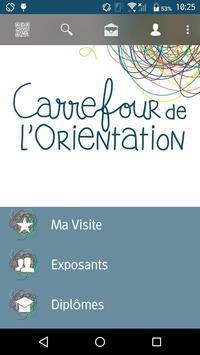 Carrefour de l'Orientation poster