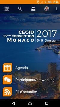 Cegid 13e Convention Monaco poster