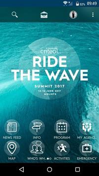 Criteo Summit 2017 poster