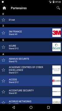 FIC Forum Cybersécurité apk screenshot