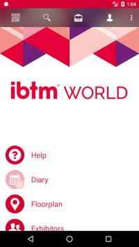 ibtm world 2017 Official Show poster