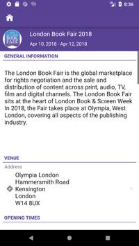The London Book Fair apk screenshot
