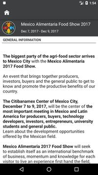 México Alimentaria Food Show apk screenshot