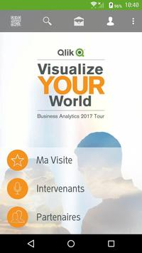 Qlik Visualize Your World 2017 poster