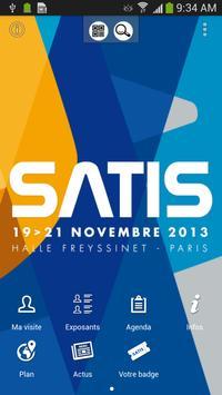 SATIS poster