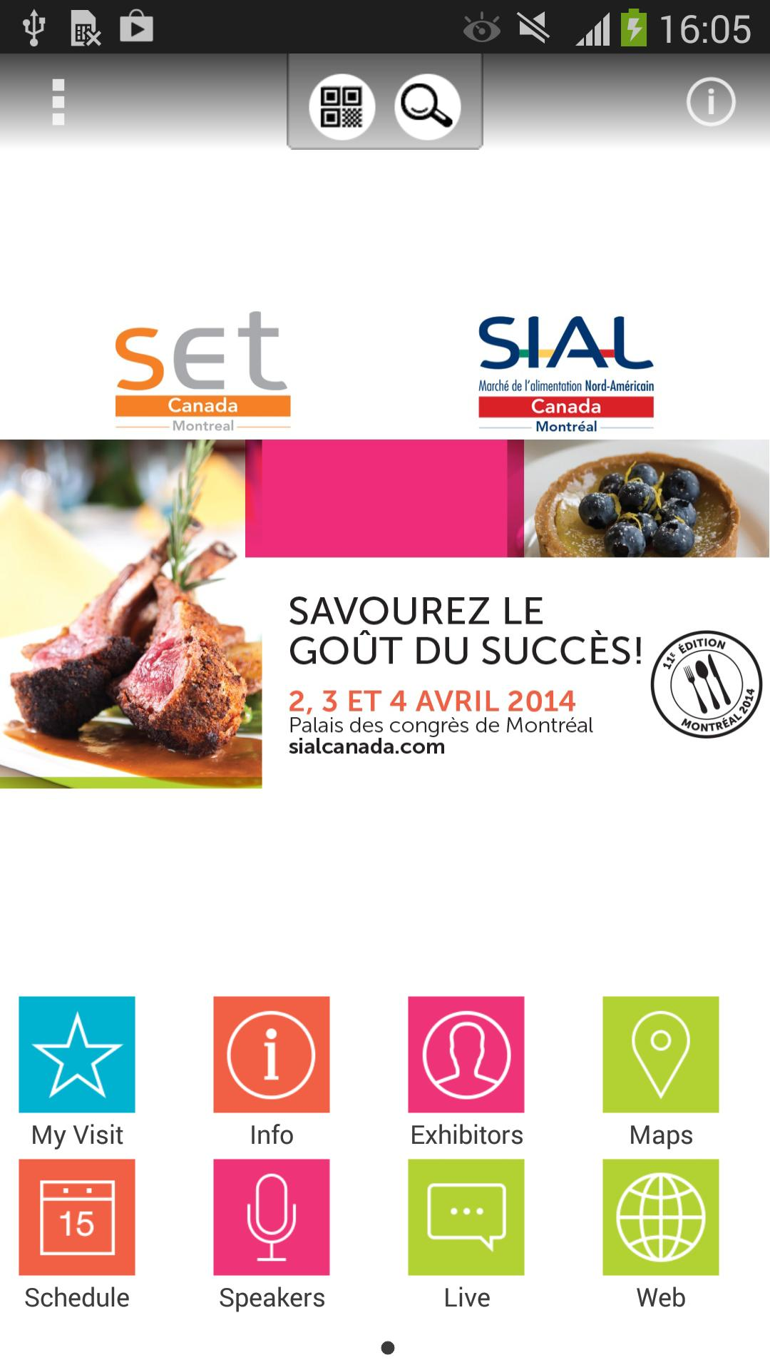 SIAL/SET Canada poster