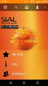 SIAL Middle East 2016 poster