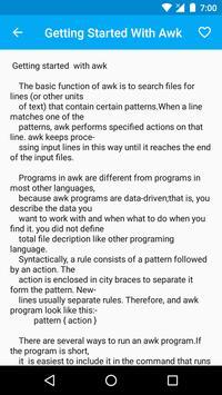 AWK - Lessons screenshot 2