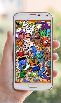 Best Doodle Art Wallpapers HD screenshot 6