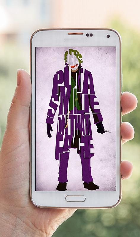 Joker wallpapers descarga apk gratis personalizacin aplicacin joker wallpapers captura de pantalla de la apk voltagebd Choice Image