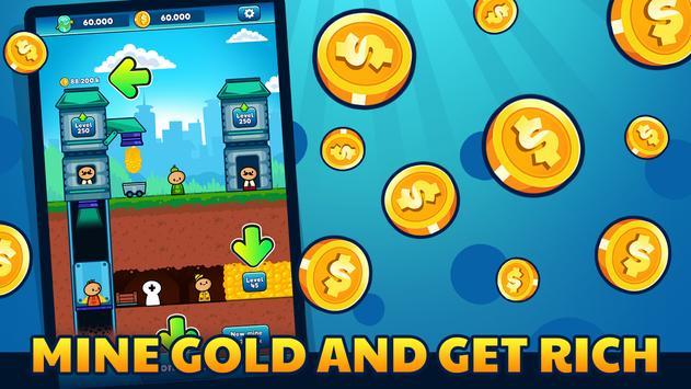 Gold Mine Idle Clicker screenshot 12