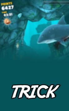 Free Hungry Shark World Trick apk screenshot