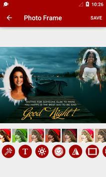 Night Dual Photo Frames apk screenshot