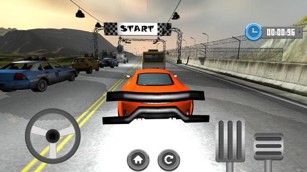 Racing Car Speed 3D screenshot 1