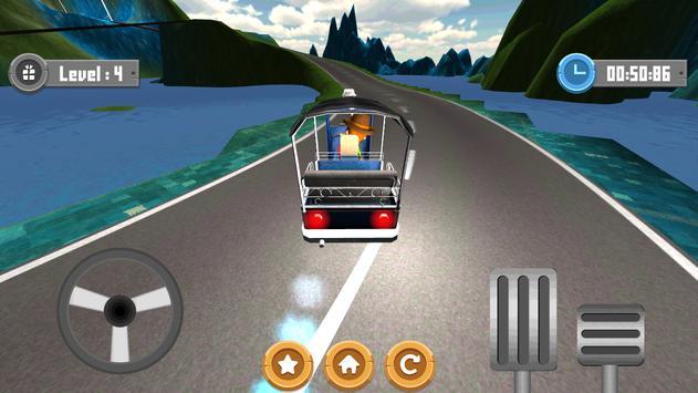 Tuk Tuk Racing screenshot 4