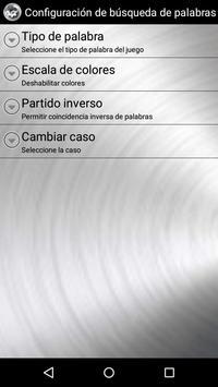 Word Search Spanish screenshot 4