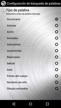 Word Search Spanish screenshot 5