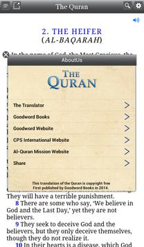 Quran: English Audio and Notes screenshot 13