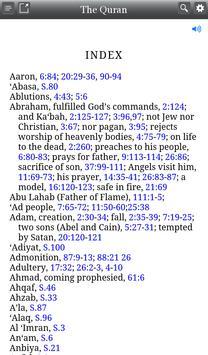 Quran: English Audio and Notes apk screenshot