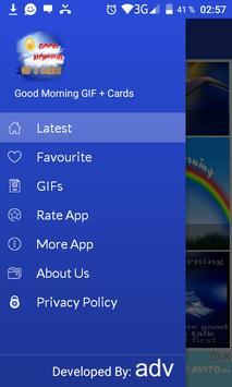 Good morning Gif & cards screenshot 1