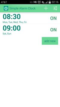 Simple Alarm Clock poster