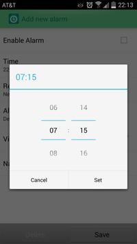 Simple Alarm Clock apk screenshot