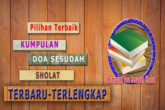 Kumpulan Doa Sesudah Sholat poster