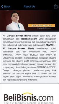 Garuda Broker Bisnis screenshot 1