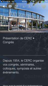 CERC•CONGRES apk screenshot