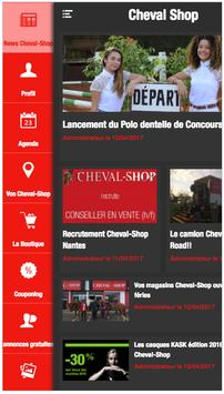 Cheval-Shop poster