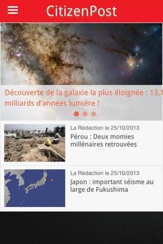 CitizenPost apk screenshot