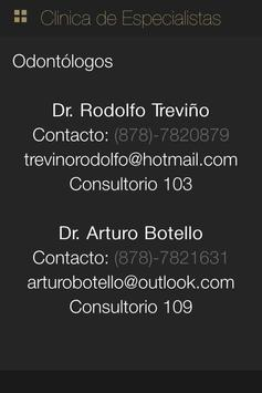 Clinica Especialistas screenshot 3