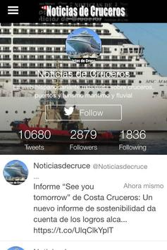 Noticias de Cruceros screenshot 1