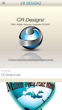 CR Designz poster