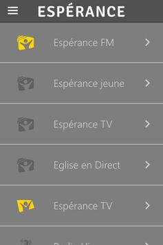 Espérance apk screenshot