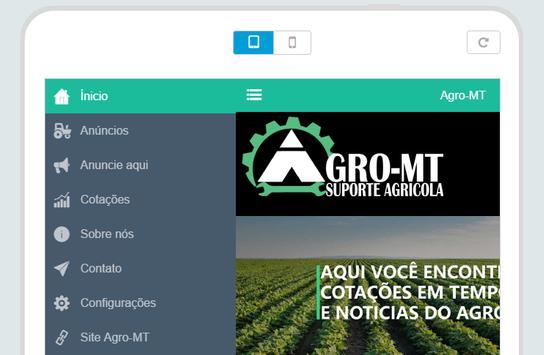 Agro-MT - Suporte Agrícola poster